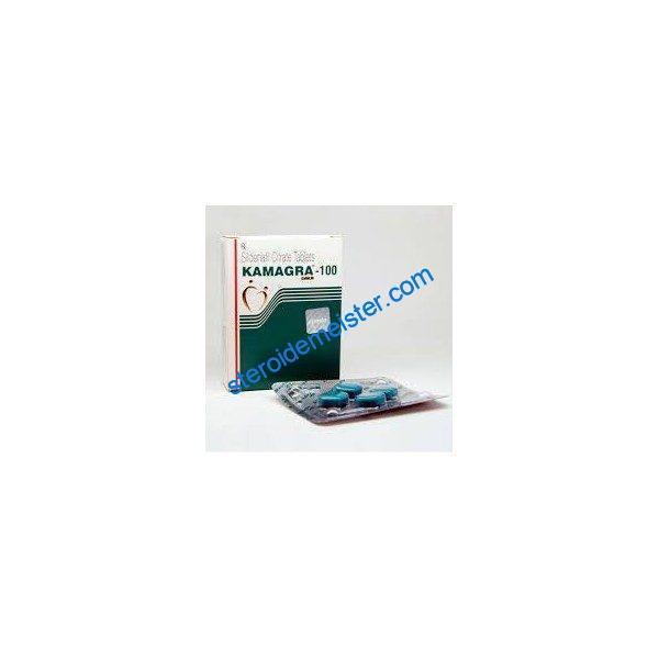 KAMAGRA GOLD GREEN 100mg [SLIDENAFILE CITRATE] 4 tablets 1