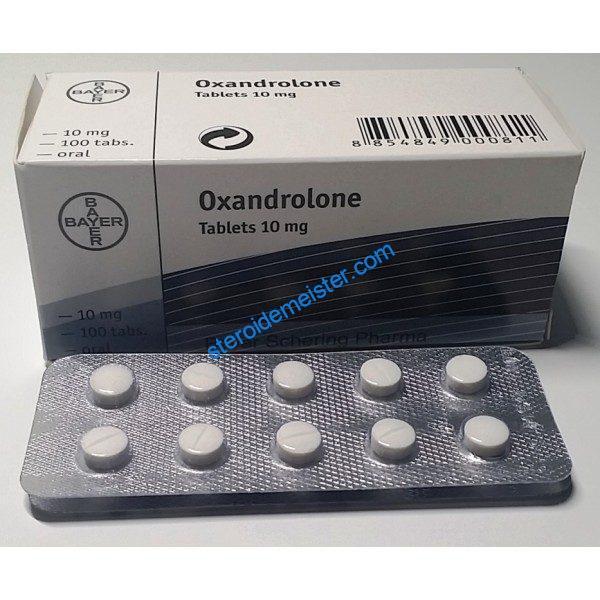 Oxandrolone 10mg Bayer 100 tabs [10mg / tab] 1