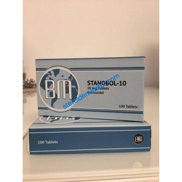 Stanabol-10 BM Pharmaceuticals 100 tabs [10mg / tab] 1
