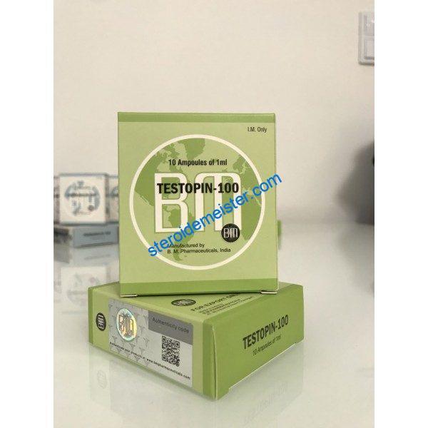 Testopin 100 BM Pharmas (Testosterone Propionate) 10ML 1