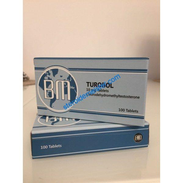 Turobol BM Pharmaceuticals 100 tabs [10mg / tab] 1