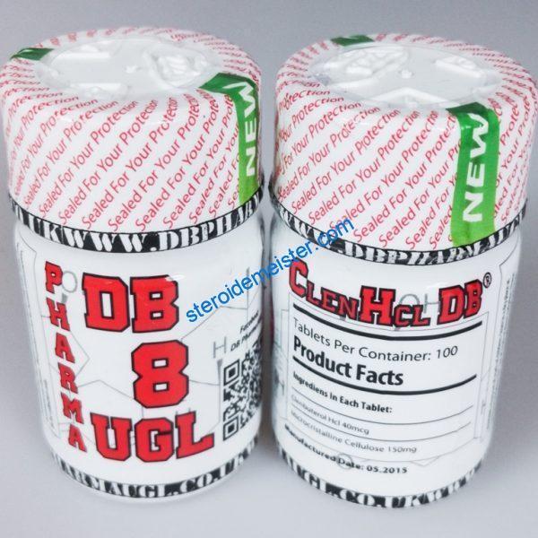 Clenbuterol HCL DB Pharma 100tabs (40mcg/tab) 1