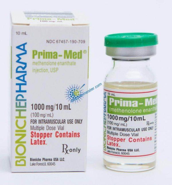 Prima-Med Bioniche Pharma (Primobolan Depot) 10ml (100mg / ml) 1