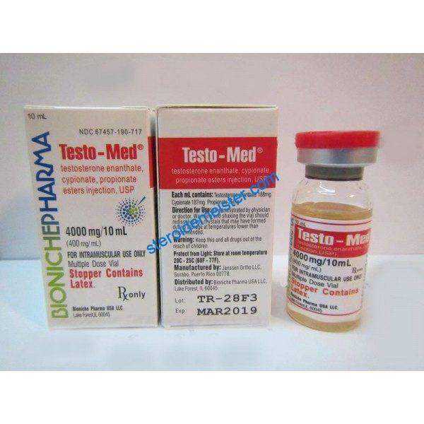 Testo-Med Bioniche Apotheke (Testosteron Mix) 10ml (400mg/ml) 1