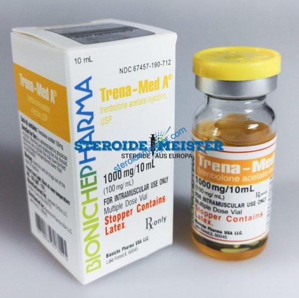 Trena-Med A Bioniche Pharma (Trenbolone Acetate) 10ml (100mg / ml) 1