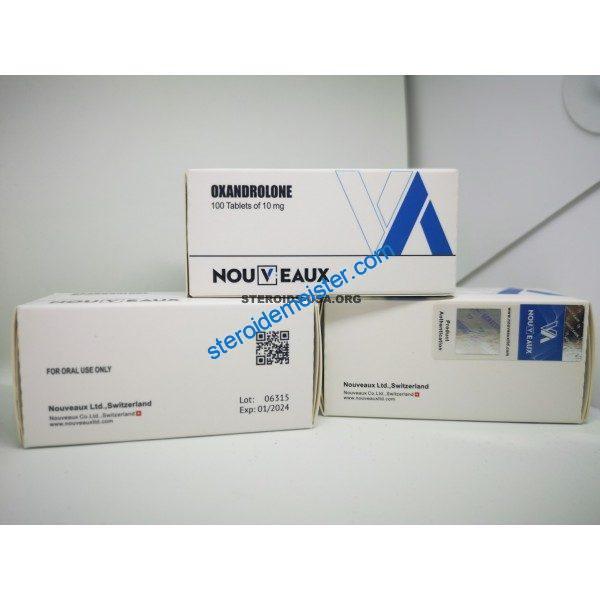 Oxandrolone [Anavar] Nouveaux 100 Tabletten [10 mg / Tab] 1
