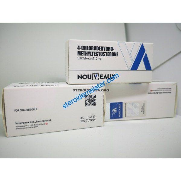 Turinabol Nouveaux LTD 100 Tabletten mit 10 mg 1