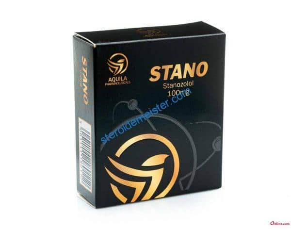 STANO (WINSTROL DEPOT) AQUILA PHARMACEUTICALS 10X1ML AMPOULE [100MG/ML] 1
