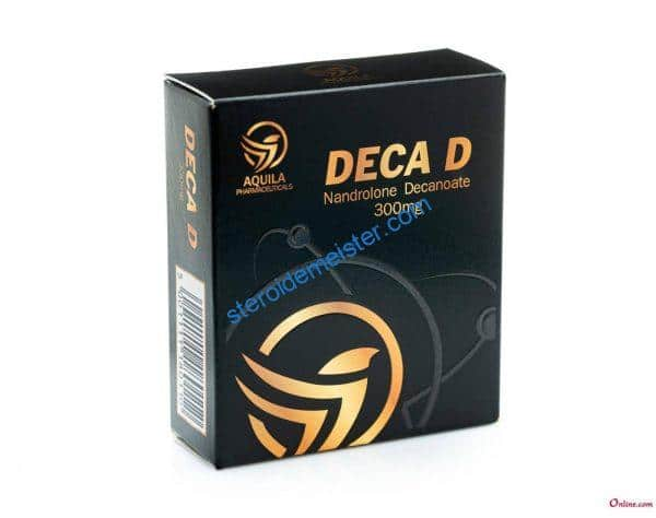 DECA D (NANDROLONE DECANOATE) AQUILA PHARMACEUTICALS 10X1ML AMPOULE [300MG/ML] 1