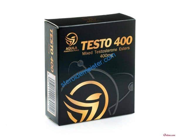TEST 400 (MIXED TESTOSTERONE ESTERS) AQUILA PHARMACEUTICALS 10X1ML AMPOULE [400MG/ML] 1