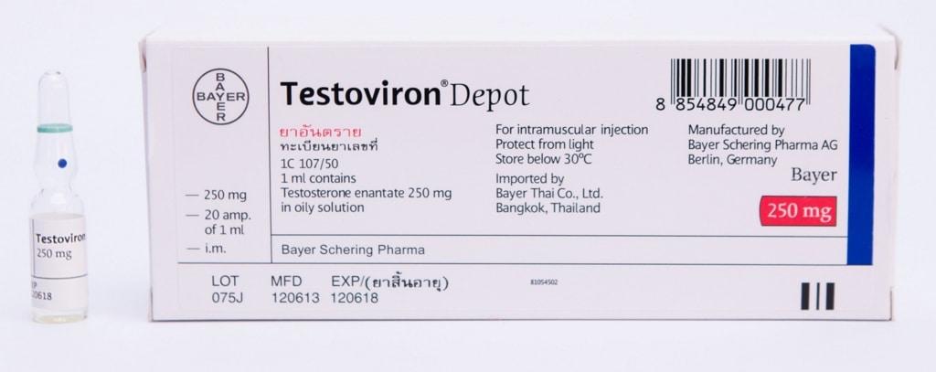 Testoviron - Vorteile, Nebenwirkungen, Bodybuilding-Zyklus, PCT 2