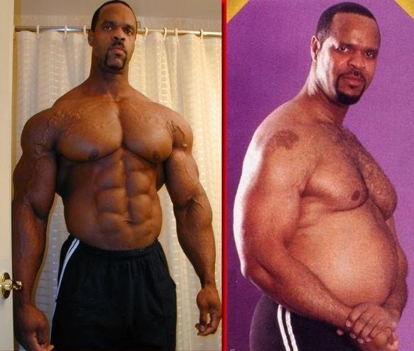 Steroide und Muskelaufbau.
