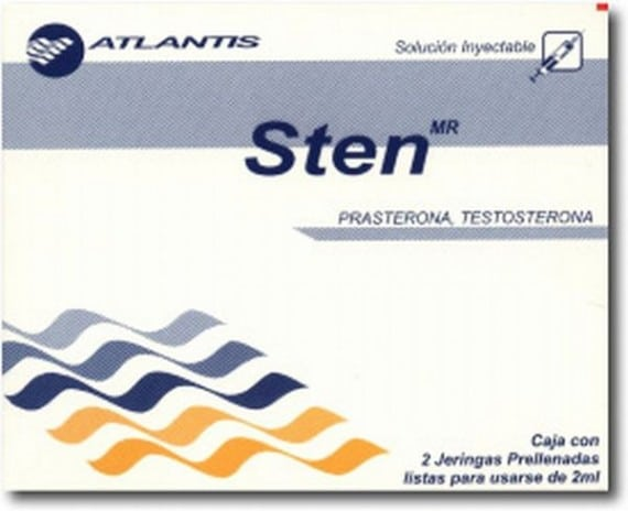 Sten (Testosteron / DHEA) 12
