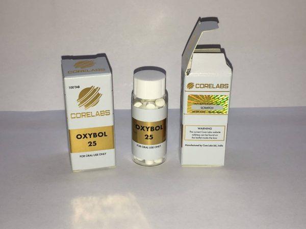 Oxybol 25 CORE labs 100 tabs [25mg/tab] 1